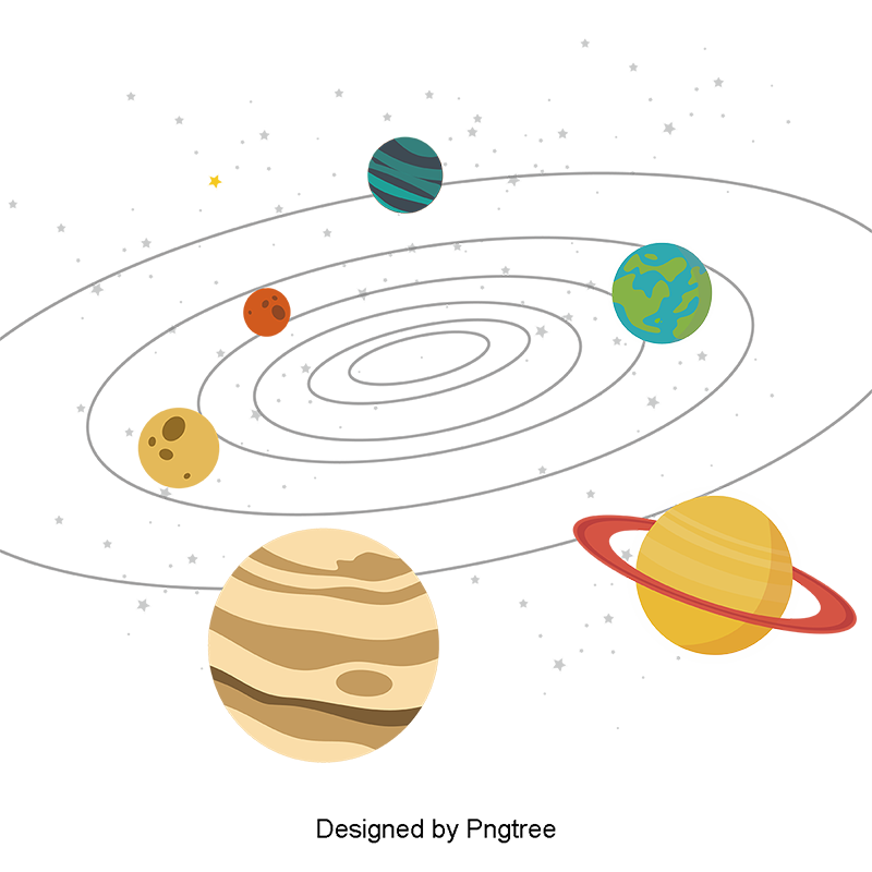 image royalty free download Planets vector. Solar system cartoon with.