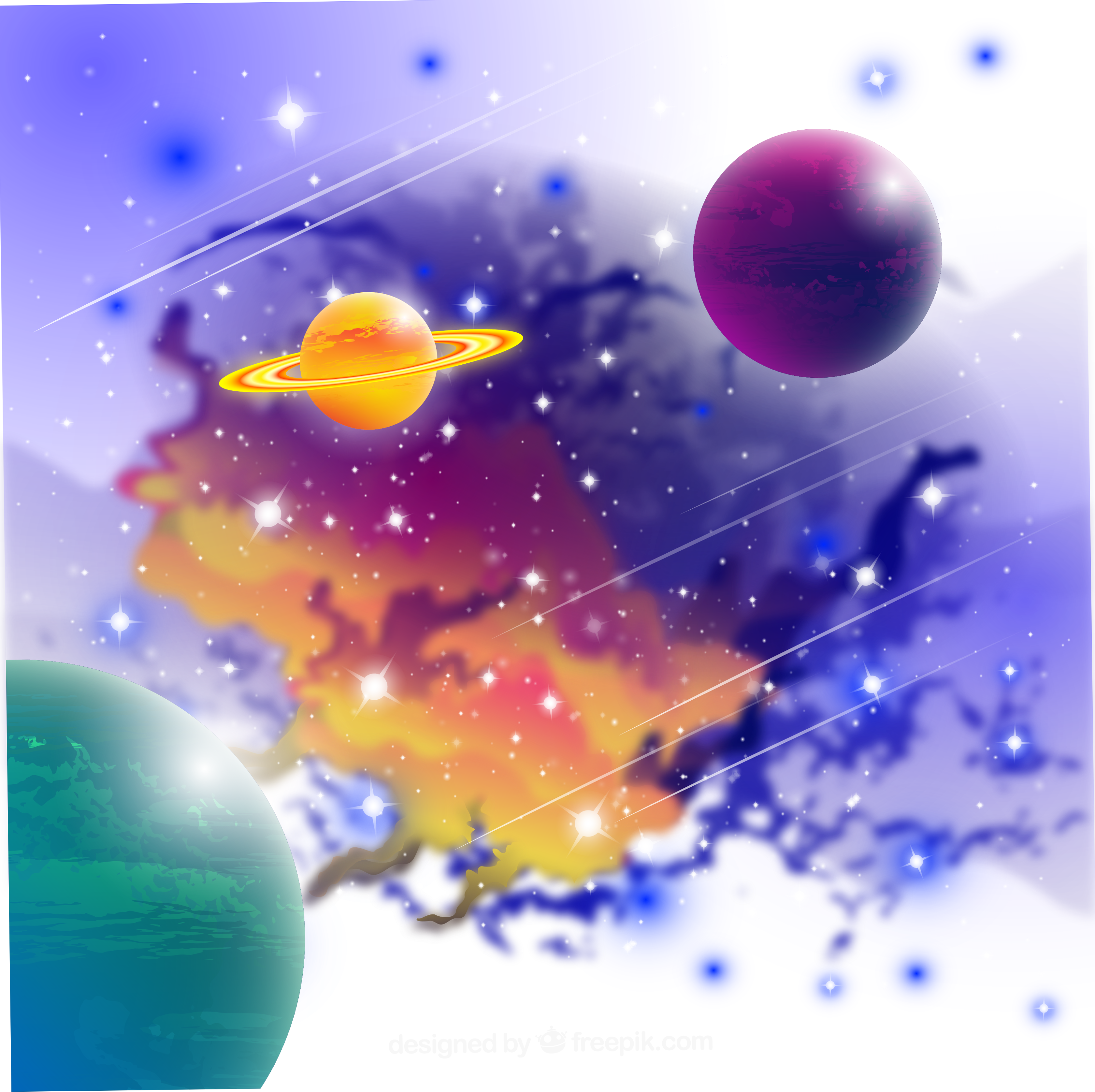 png free library Universe vector planet. Nebula fantasy cosmic