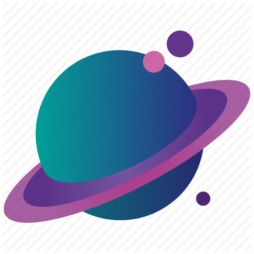 banner library library Flat Design Galaxy