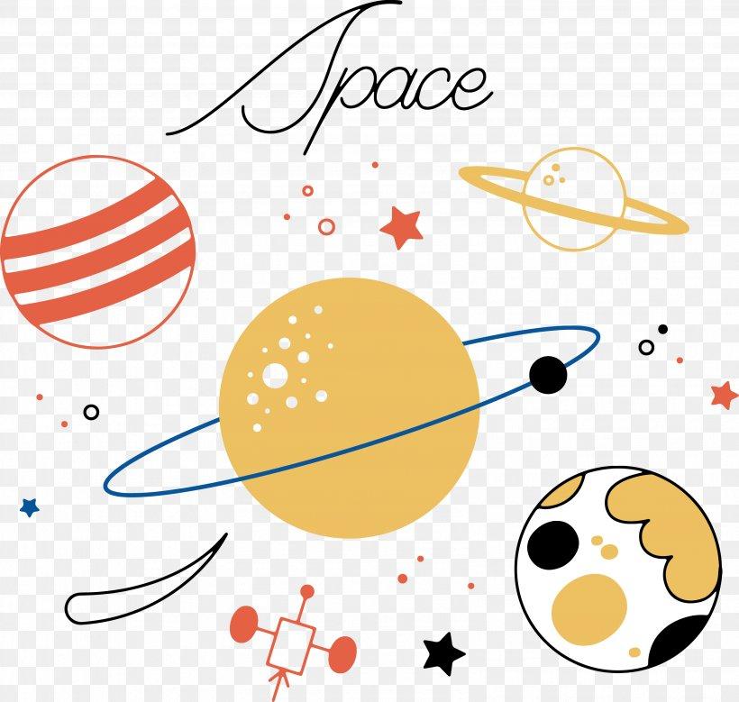 vector transparent library Planets vector line art. Planet cartoon clip png.