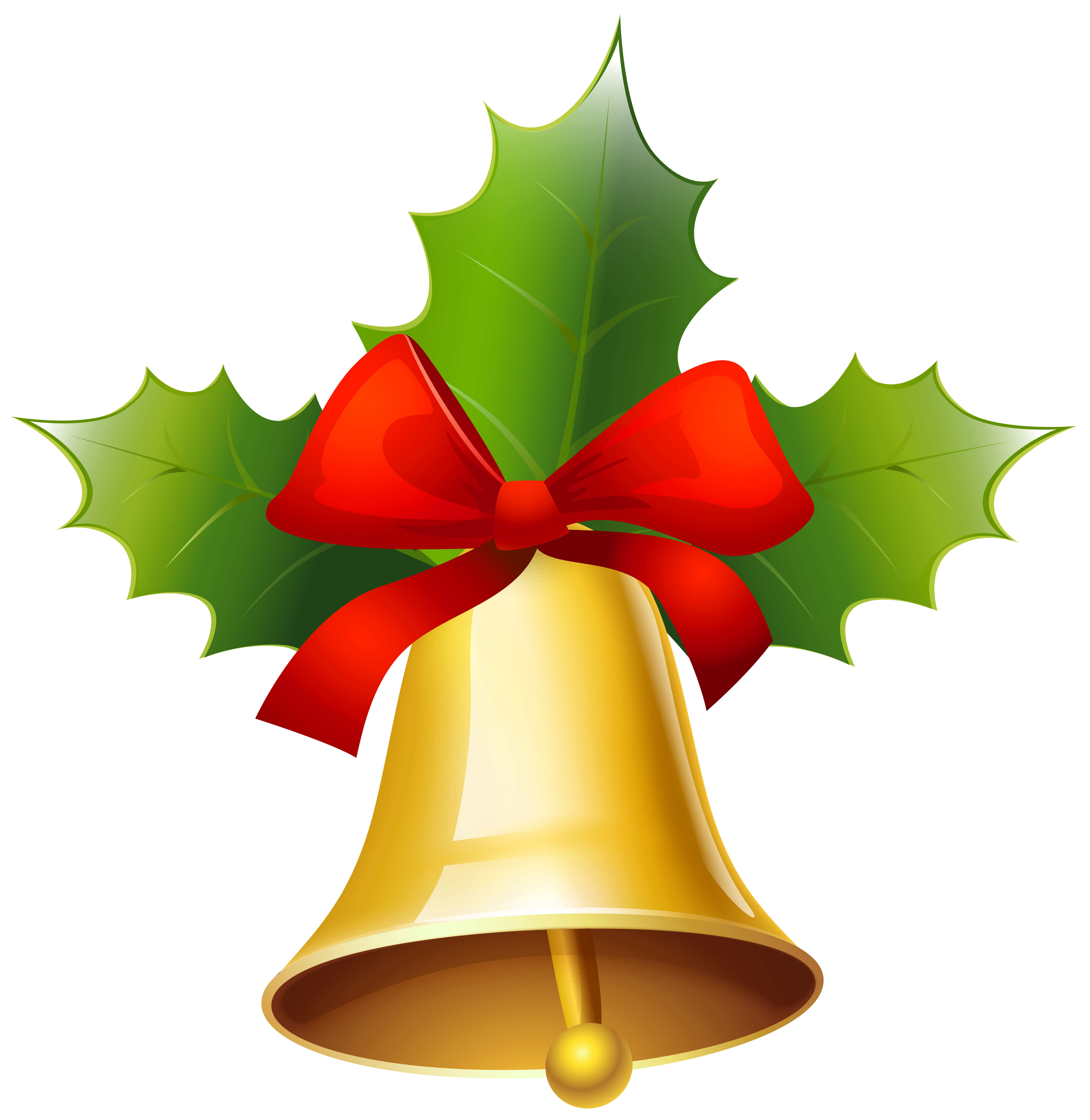 svg free download Christmas bells clipart. Golden bell png image