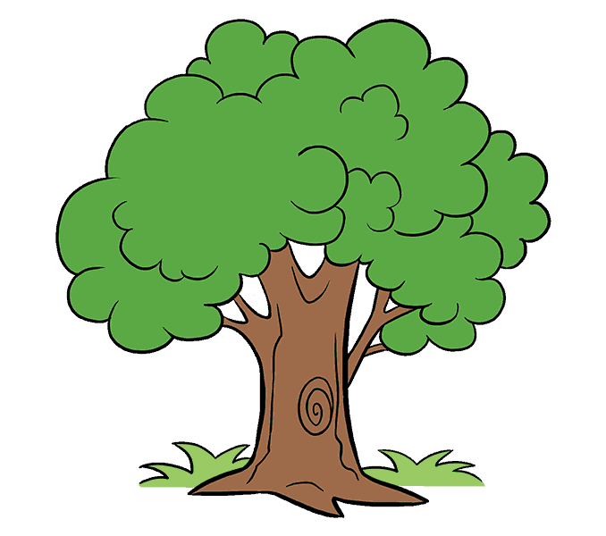 freeuse download How to Draw a Cartoon Tree