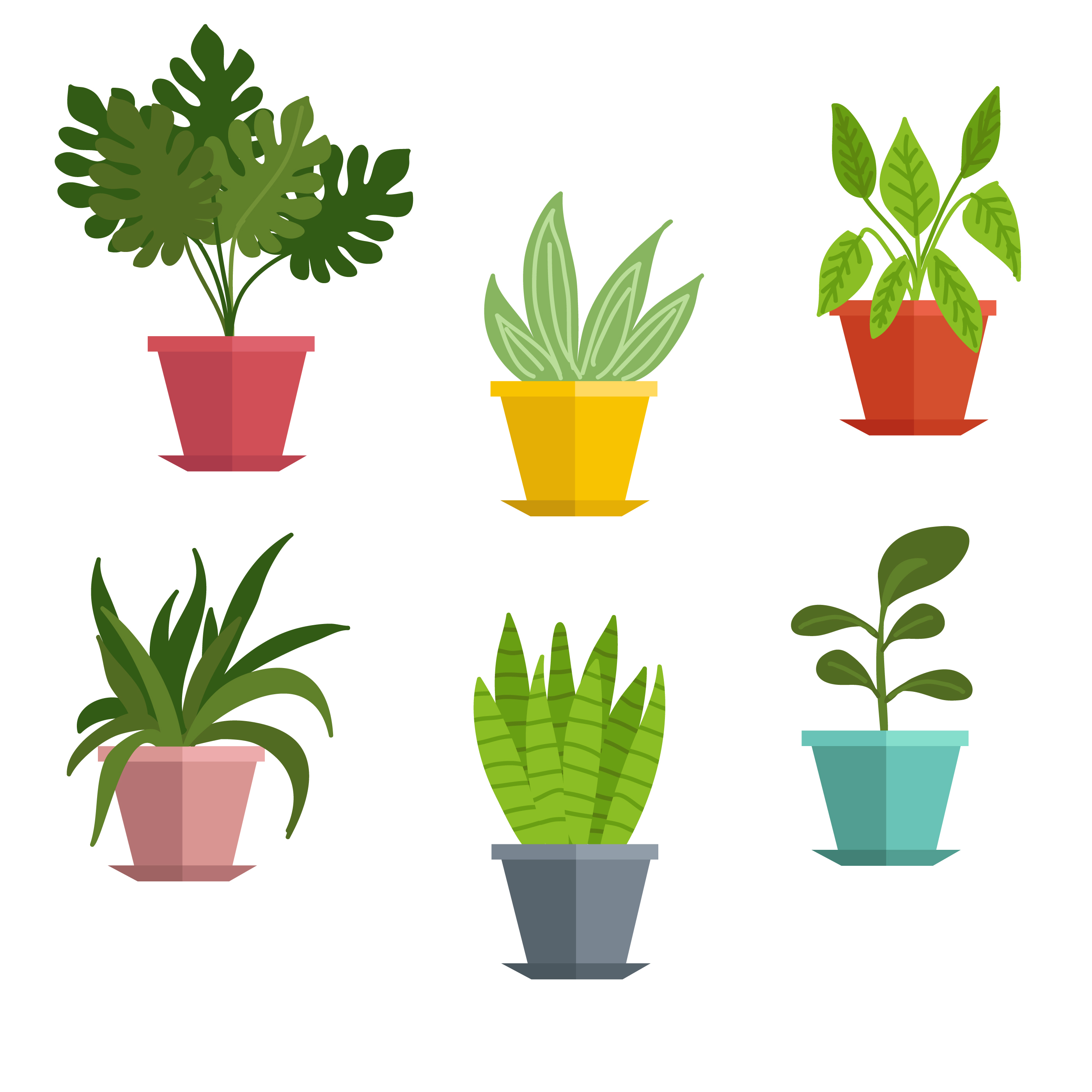 clip art freeuse library Plants clipart. Potted little plant x