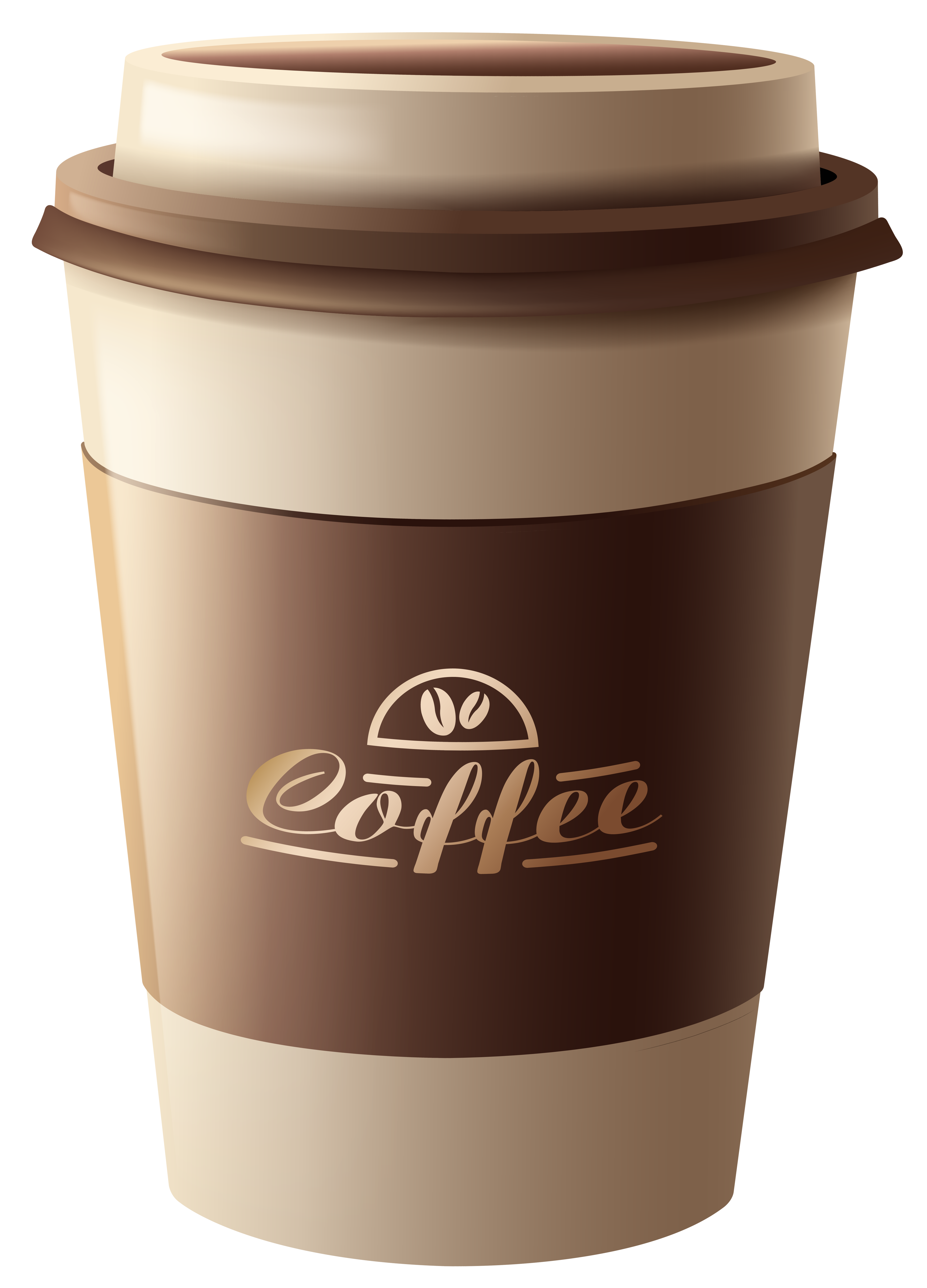 free Coffee cup clipart png. Brown plastic image gallery