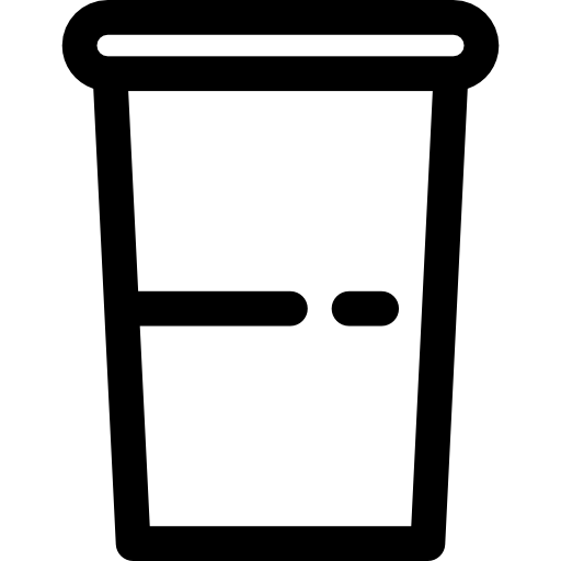 png stock Icon png svg . Plastic cup clipart black and white