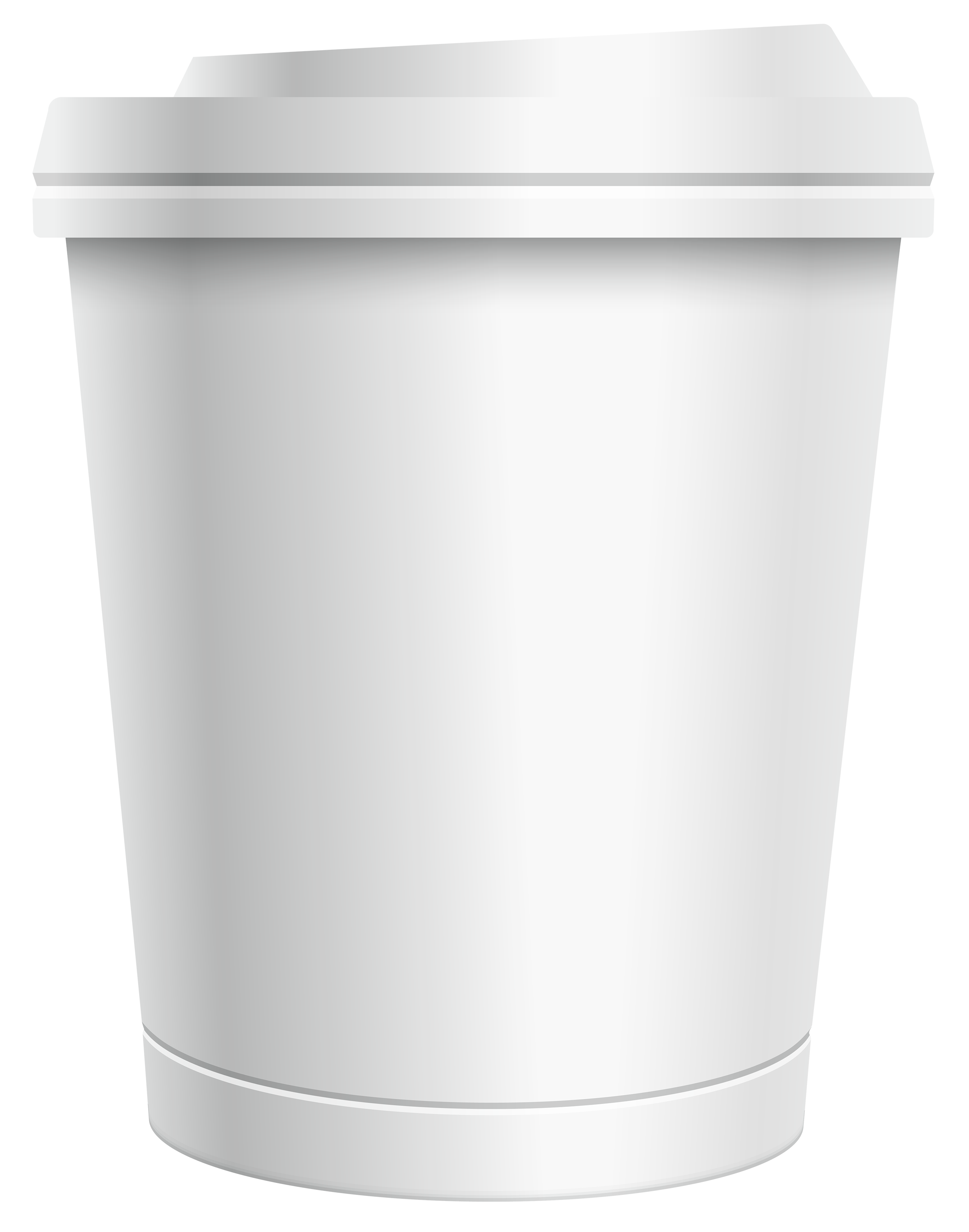 banner freeuse Plastic white png image. To go coffee cup clipart