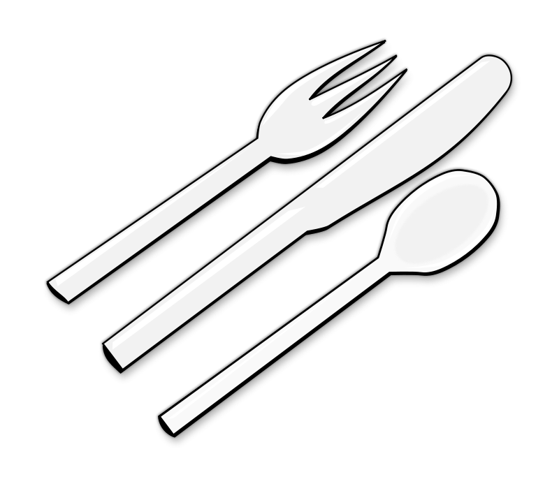 banner freeuse download Plastic cutlery clipart