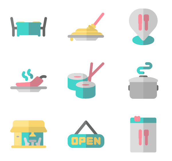 picture free stock restaurant vector flat #102256980