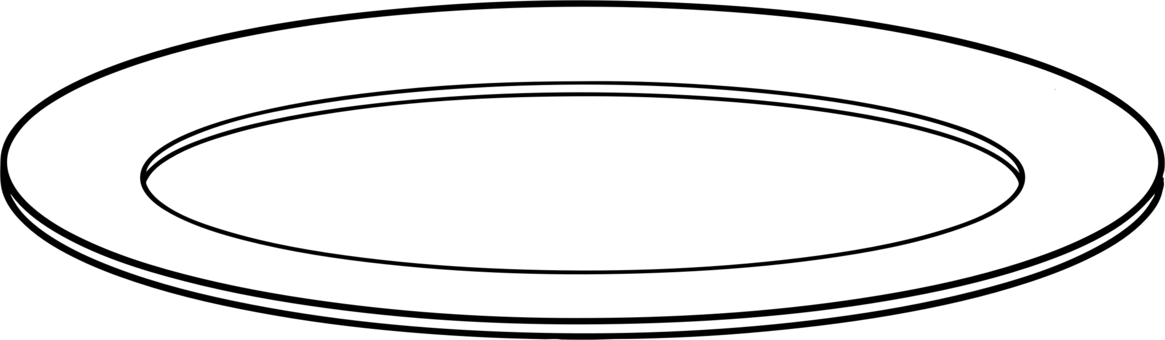 svg royalty free stock Plates drawing. Plate tableware computer icons.