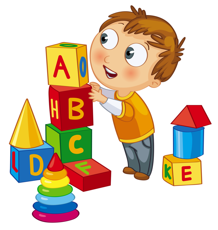 picture download kids playing clipart clip art kid playing blocks clock time