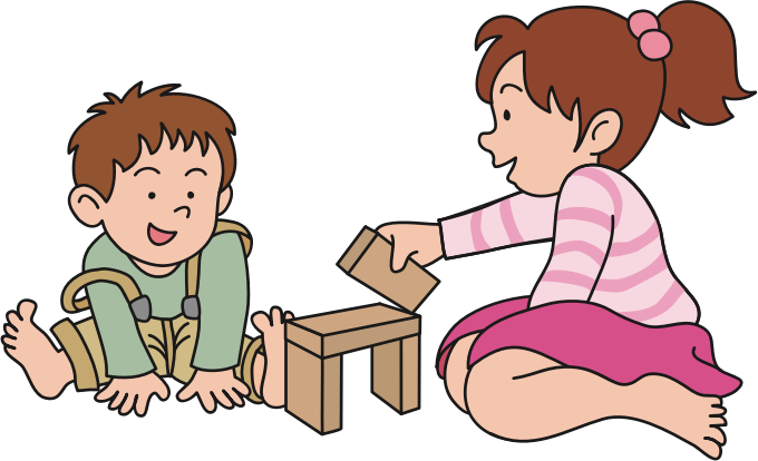 picture transparent Children medium image png. Kids playing with toys clipart.