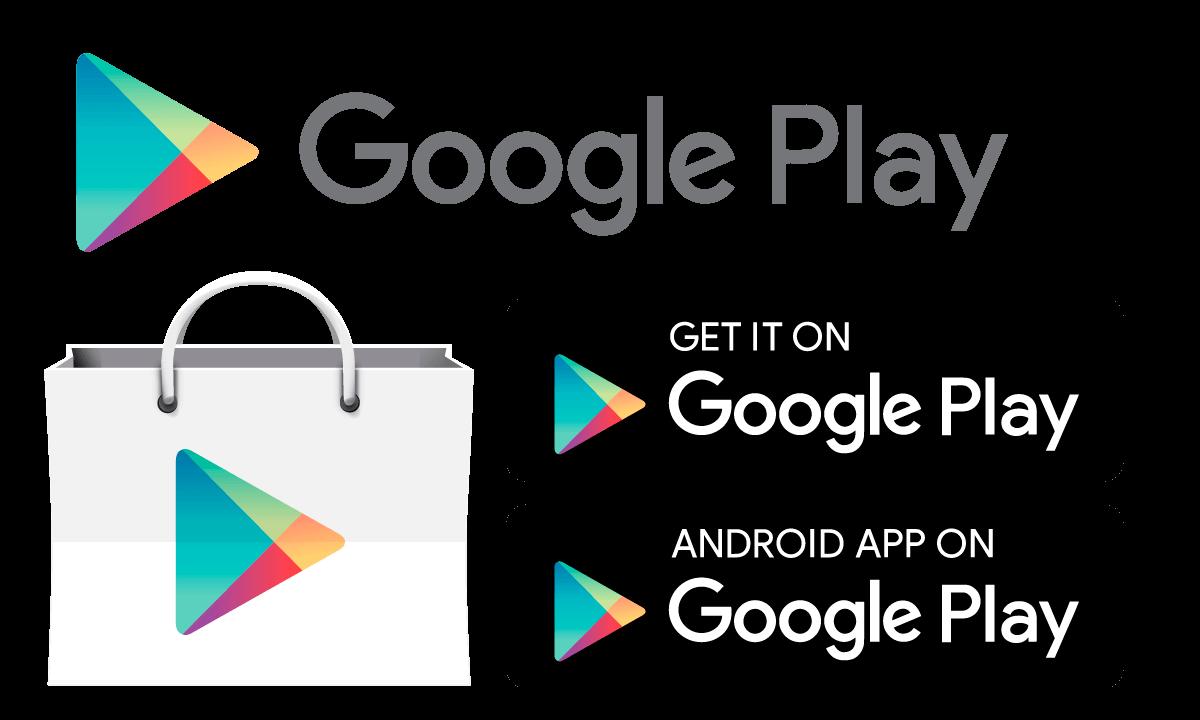 clip art stock Google play store downloading. Vector button app