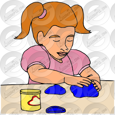 png library Playdough clipart. Picture for classroom therapy.