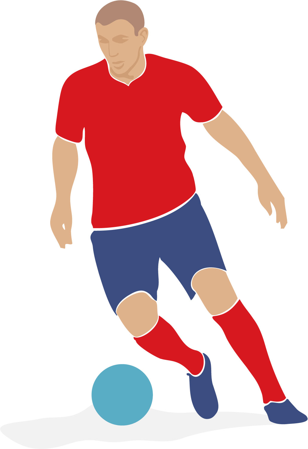 picture freeuse Free soccer cliparts download. Player clipart.