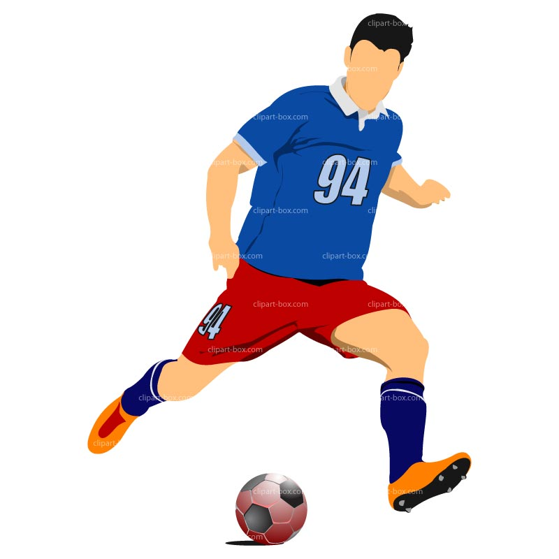 banner freeuse stock Player clipart. Free football download clip.