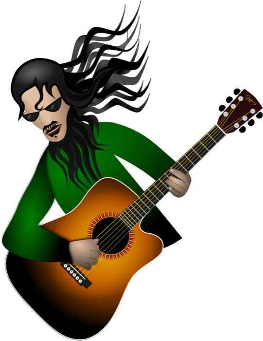 vector royalty free Guitar Clipart