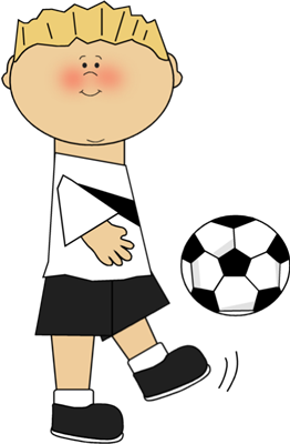 vector black and white Boy playing soccer clip. Attention clipart sport.