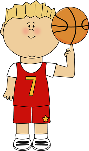 clipart royalty free download Balancing ball on finger. Basketball clip player