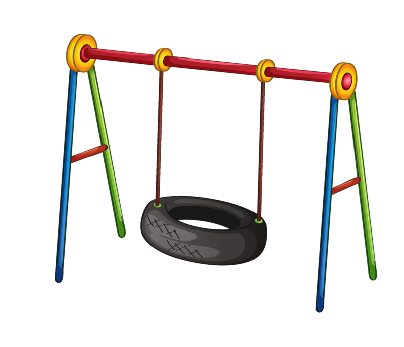 banner free library  png clip art. Playground clipart.