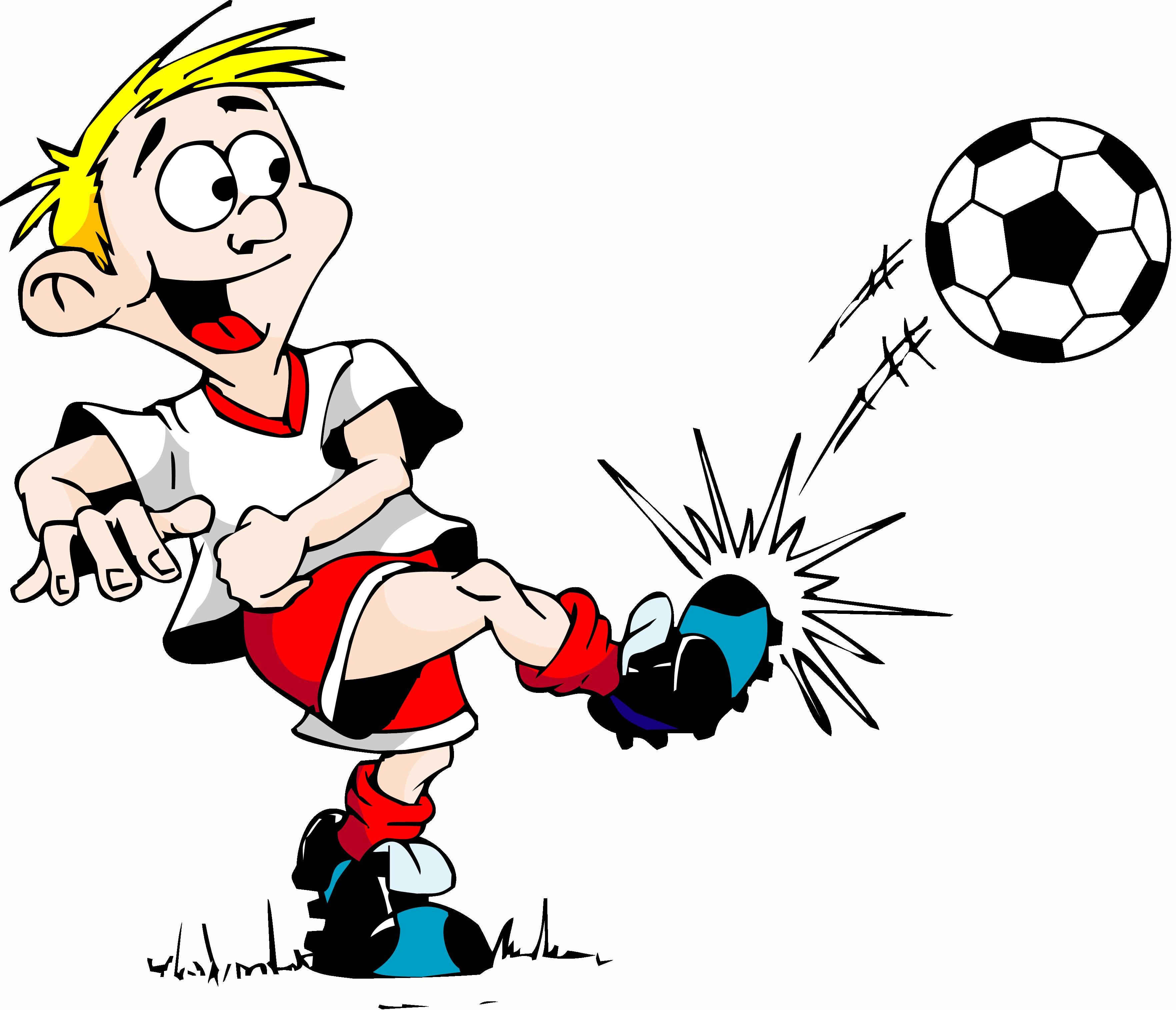 clipart transparent Playing clipart soccer kick. Free boy kicking ball
