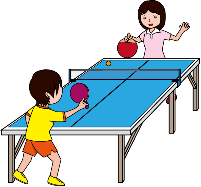 clipart freeuse library Playing tennis clipart. Clip art gratuit table