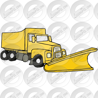 vector library library Snow picture for classroom. Plow clipart.