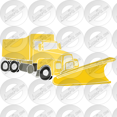 png free Plow clipart. Snow stencil for classroom.