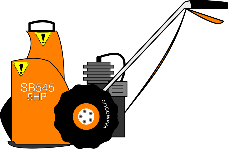 graphic royalty free Plow clipart snowblower. My snow blower almost.