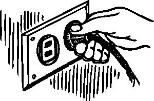 image Plug clipart. Wall clip art at