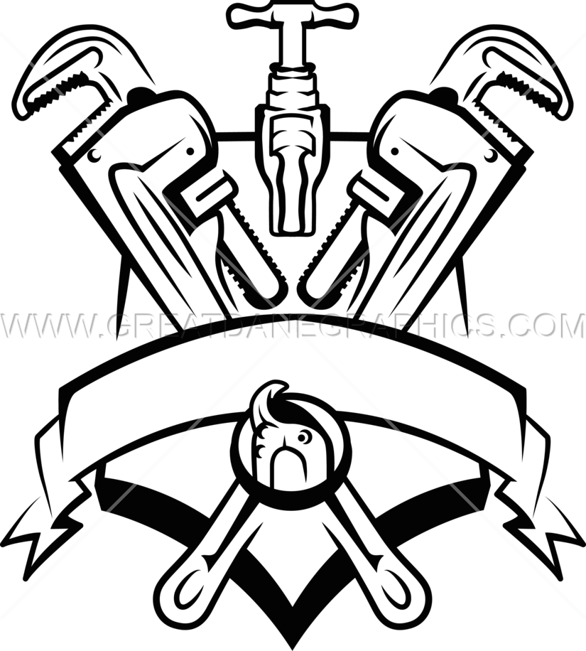 image transparent stock Plumbers Crest