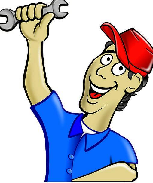 vector black and white Plumber clipart workman. Craft overhaul industry mechanic