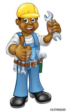 svg free library  best clip art. Plumber clipart workman