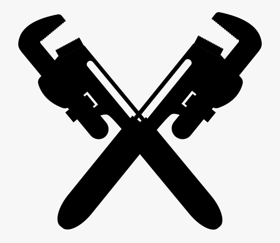 graphic free download Plumbing pipes pipe wrenches. Plumbers wrench clipart