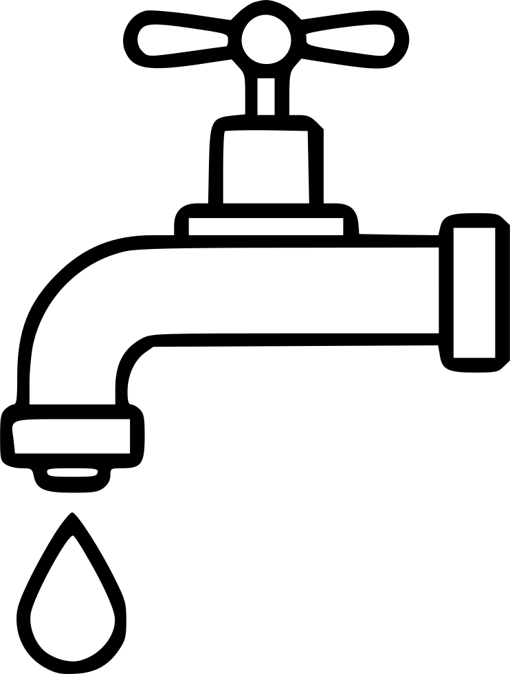 image black and white stock Faucet clipart black and white. Fancy dripping tap images