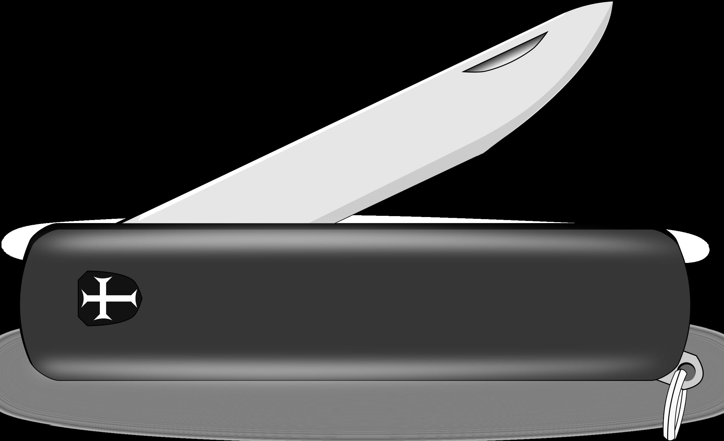 clip art royalty free download Clipartblack com tools free. Pocket knife clipart