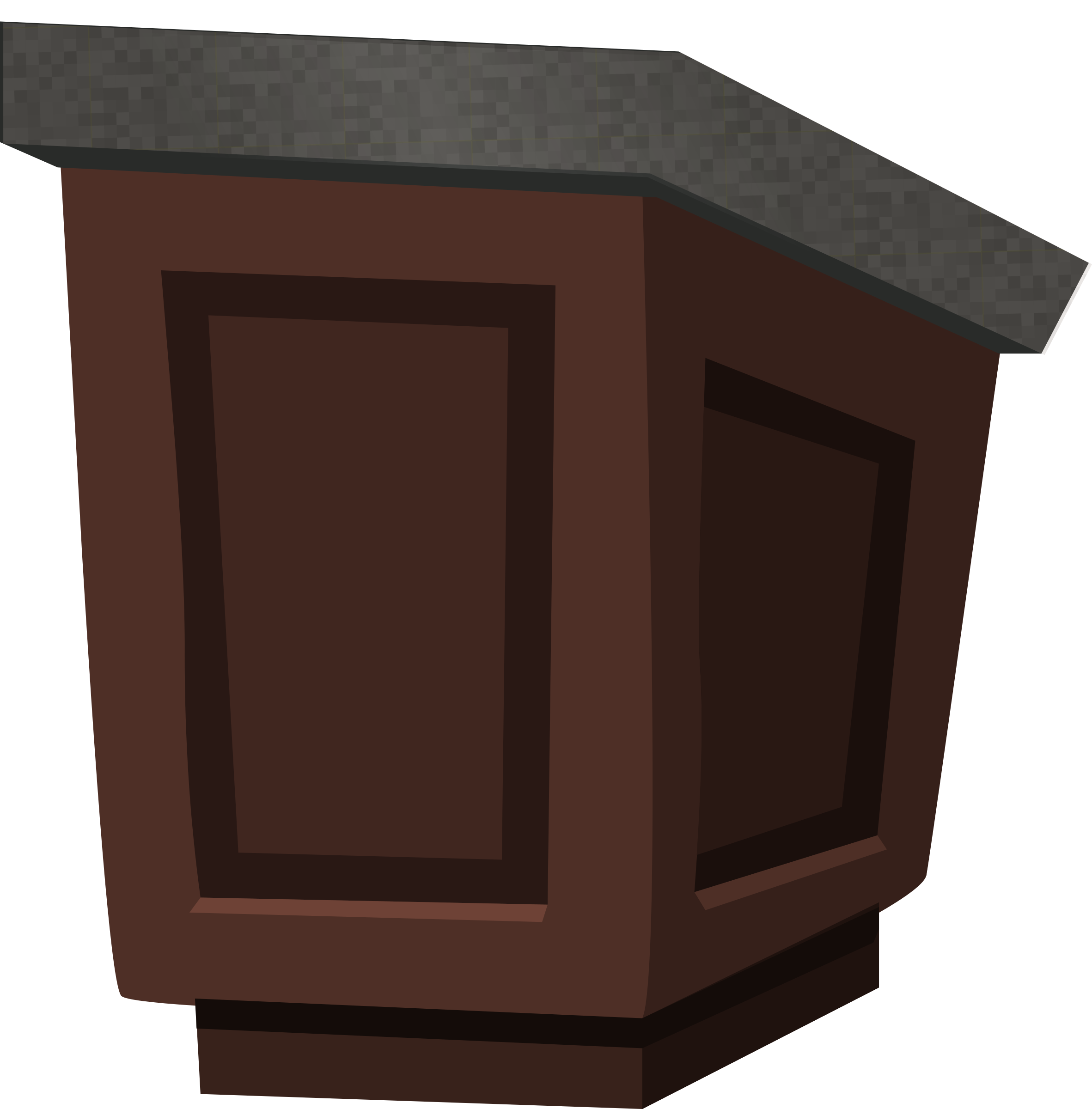 clipart freeuse download Wood with granite top. Podium clipart.