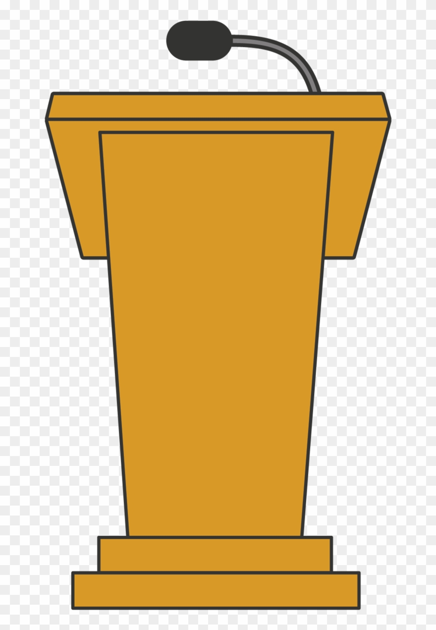 image transparent library Lectern png download . Podium clipart.