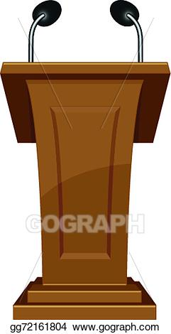 png freeuse library Podium clipart. Vector icon illustration gg.