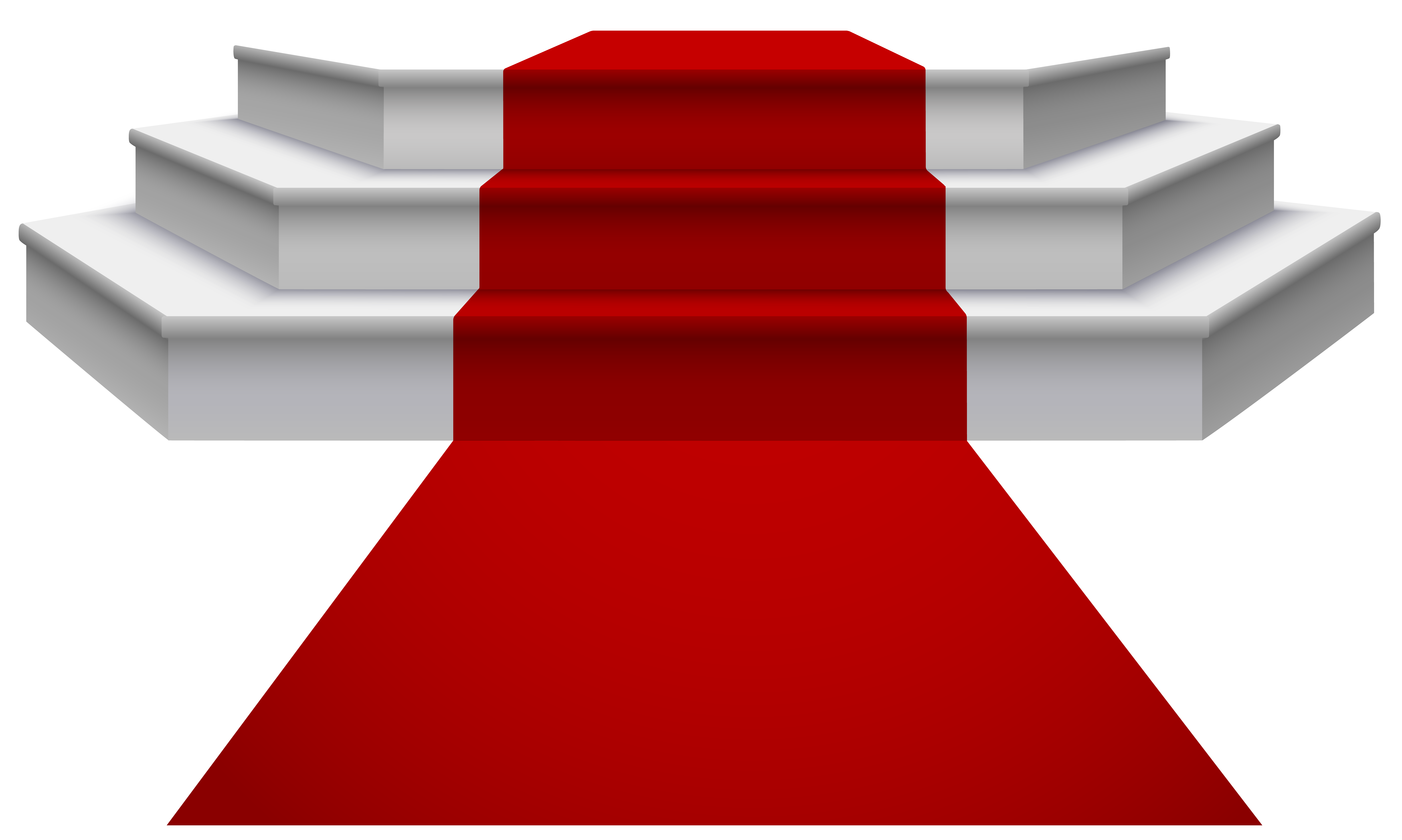royalty free library Podium clipart. White with red carpet.