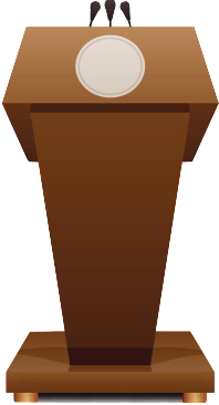 clip download Podium clipart.  collection of presidential.