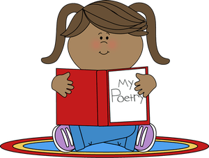 royalty free stock Poetry for children . Poem clipart