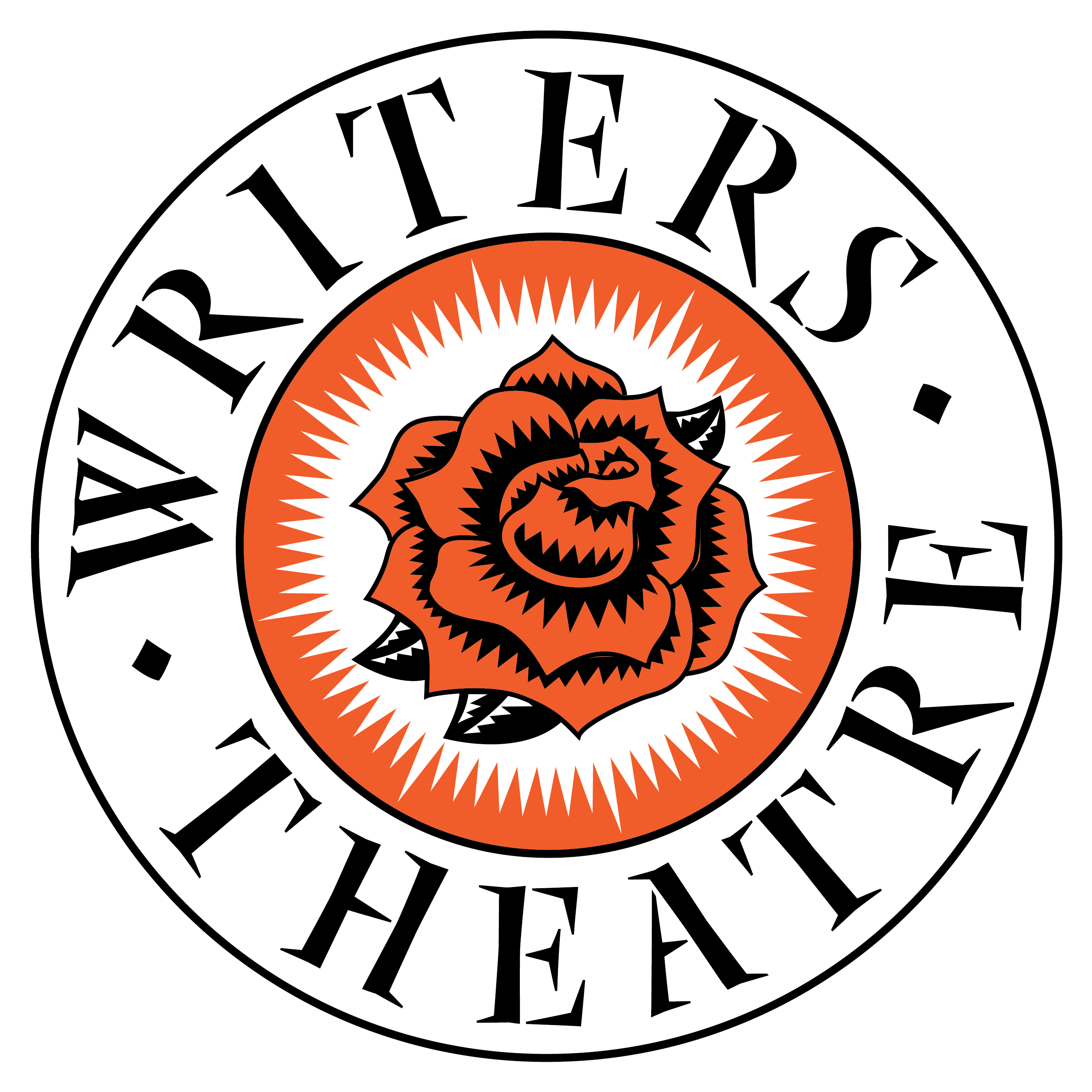 graphic black and white stock Writers theatre of new. Writer clipart playwright.