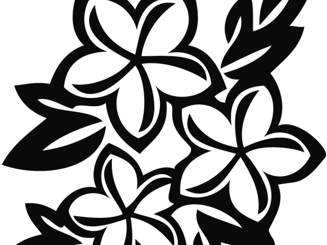 graphic black and white library Flowers on dumielauxepices net. Poinsettia clipart black and white free