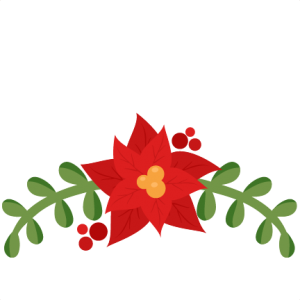 clip art royalty free stock  store miss kate. Poinsettia svg.