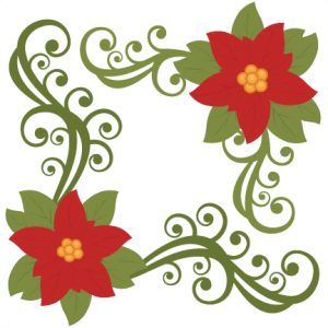 graphic library library Poinsettia svg. Miss kate cuttables product.