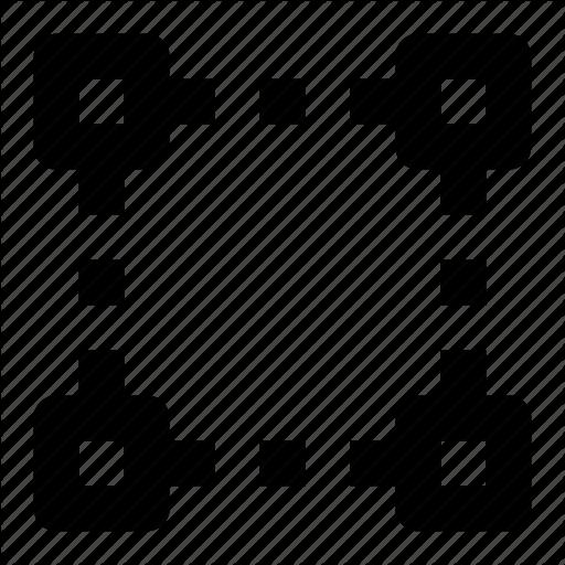 jpg freeuse Point vector. Anchor points edit shape.