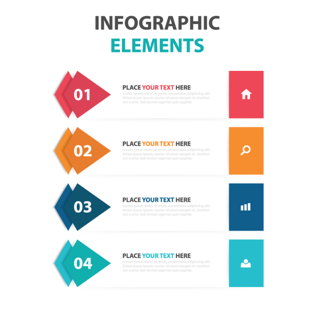 graphic stock Elements png vectors psd. Vector coffee infographic