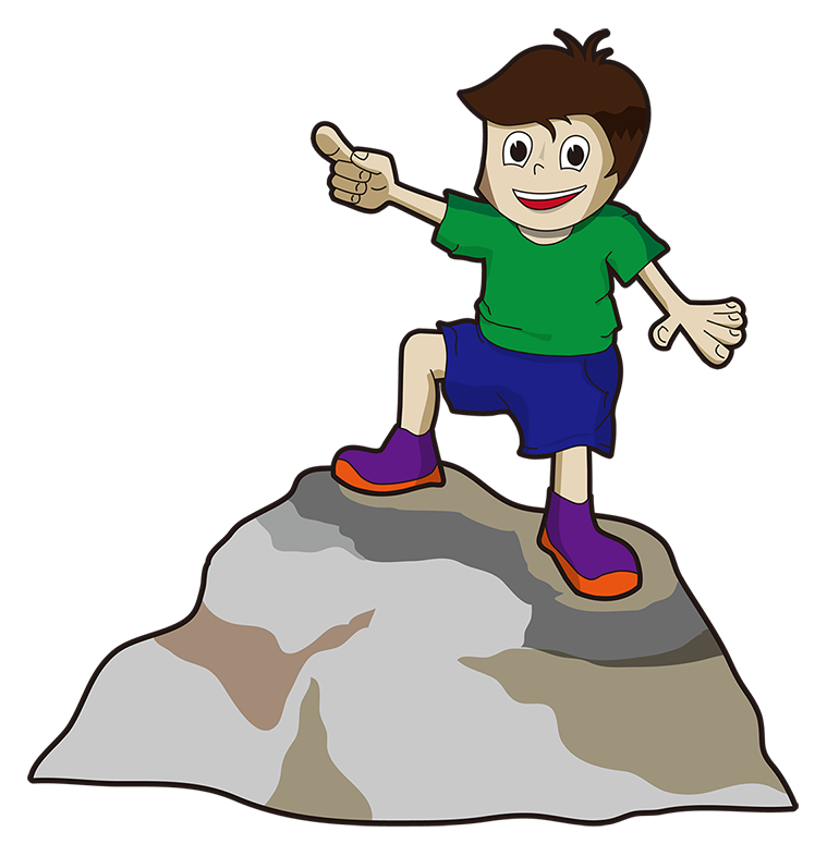 svg freeuse download child pointing clipart #60892610
