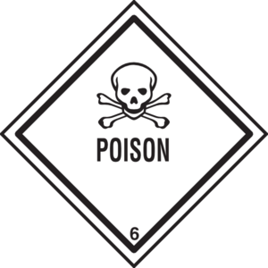 clip transparent stock Warning clip art at. Poison clipart.