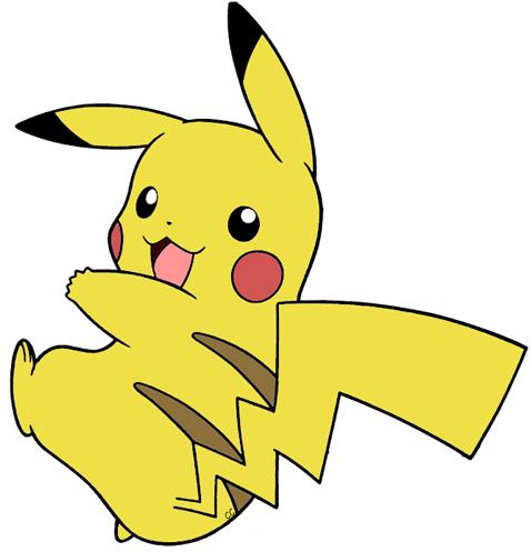 clip art freeuse library Pokemon clipart. Clip art cartoon pikachu.